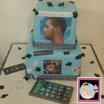 Birthday cakes A3Cakes